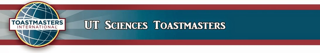 UT Sciences Toastmasters
