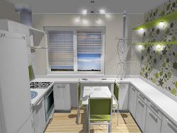 МОЙ дизайн кухни-хрущевки