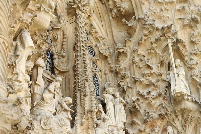 Carvings Sagrada Familia Barcelona
