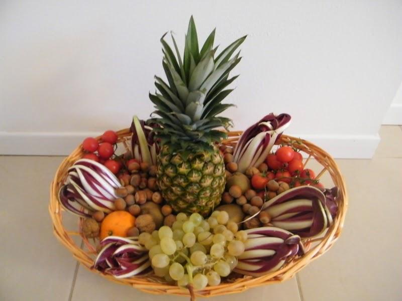 Ilfilodelleidee Regalo Di Natale Cesto Di Frutta E Verdura
