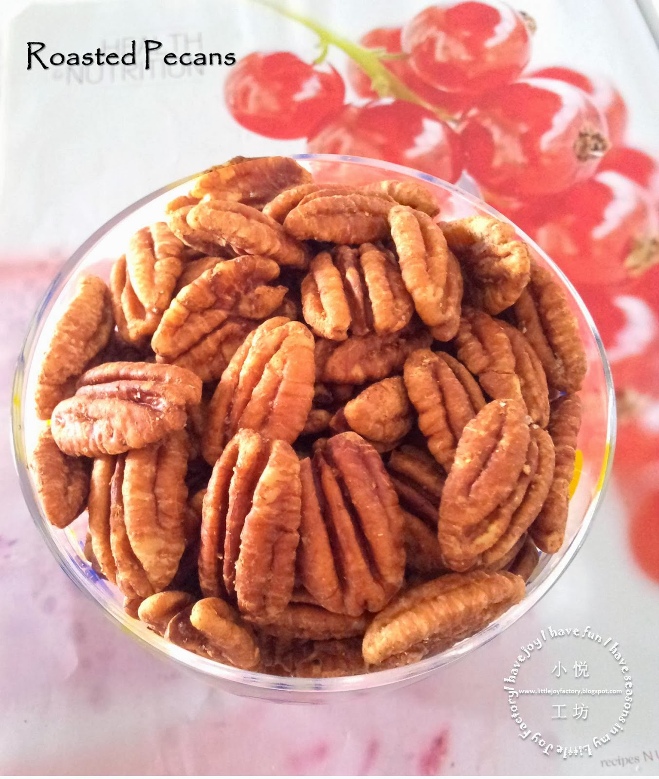 Little Joy Factory: Roasted Pecans with Chinese Five-Spice Powder