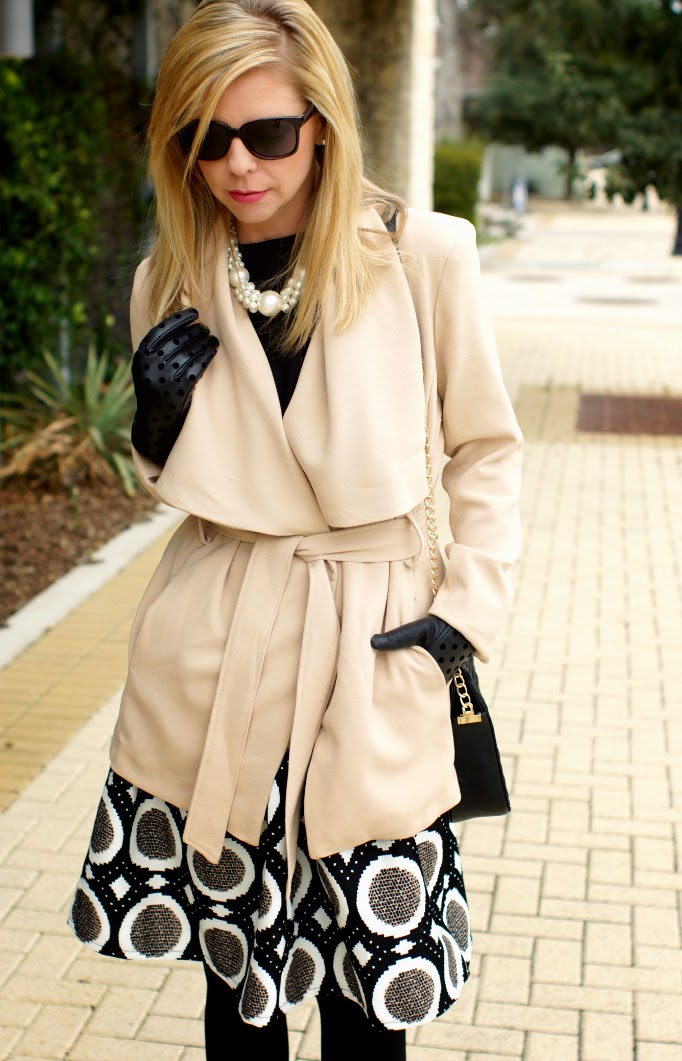 Tan Wrap Jacket