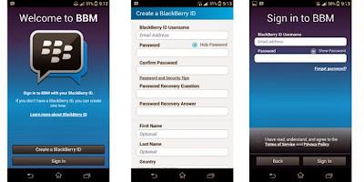BBM di Android - Download Aplikasi Blackberry Untuk Android