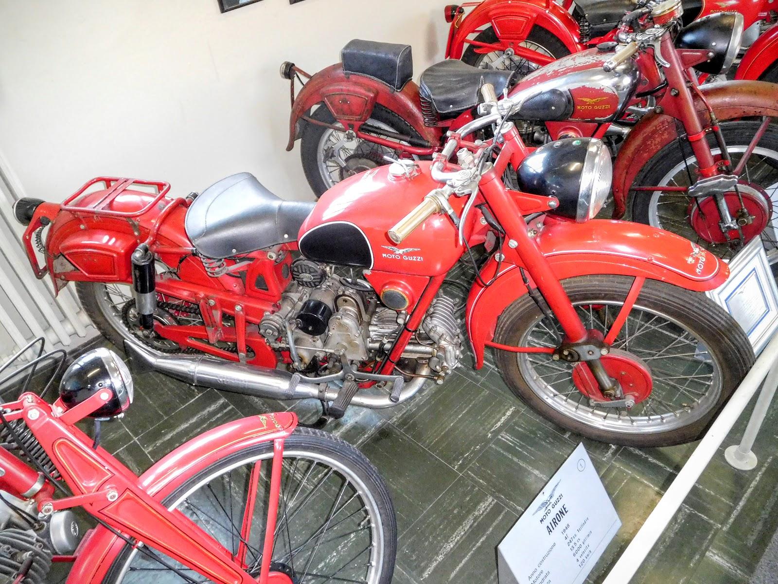 Tigho NYDucati: 1948 Moto Guzzi Airone
