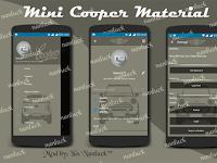 BBM MOD MINI COOPER MATERIAL DESIGN v2.10.0.31 Apk