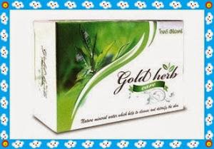 Gold Herb Care สบู่สมุนไพร อุดมด้วยสมุนไพรนานาชนิด