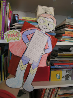 Image Super Powers Craftivity Learning Goals Clever Classroom blog