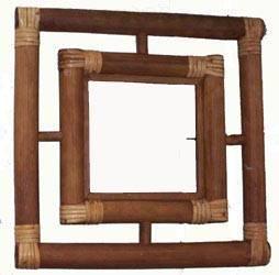 Bamboo Mirror Frame6