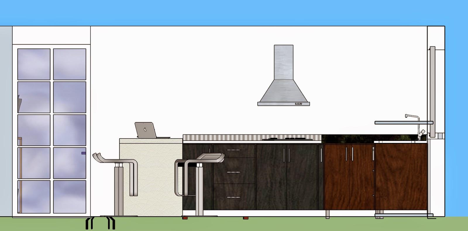 Arquitectura universidad del norte cocina y zona de labores for Cocina definicion arquitectura