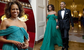 American Royalty...First Couple Attends Kennedy Honors Night
