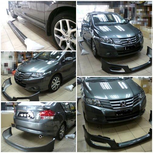 Honda City Modulo Bodykit Set