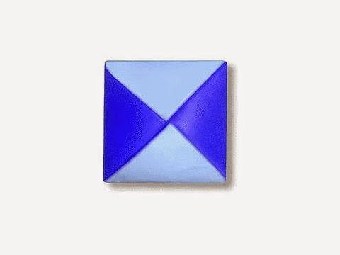 Hướng dẫn cách gấp thẻ bài bằng giấy đơn giản - Xếp hình Origami với Video clip - How to make a Menko