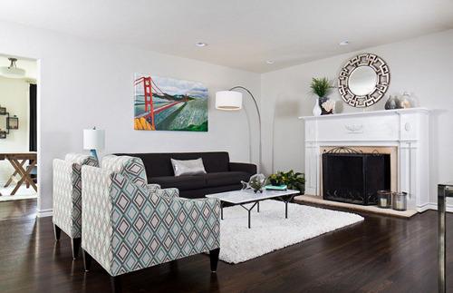 warna ruang tamu rumah minimalis