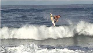 matt banting trip tahiti papara beach surf