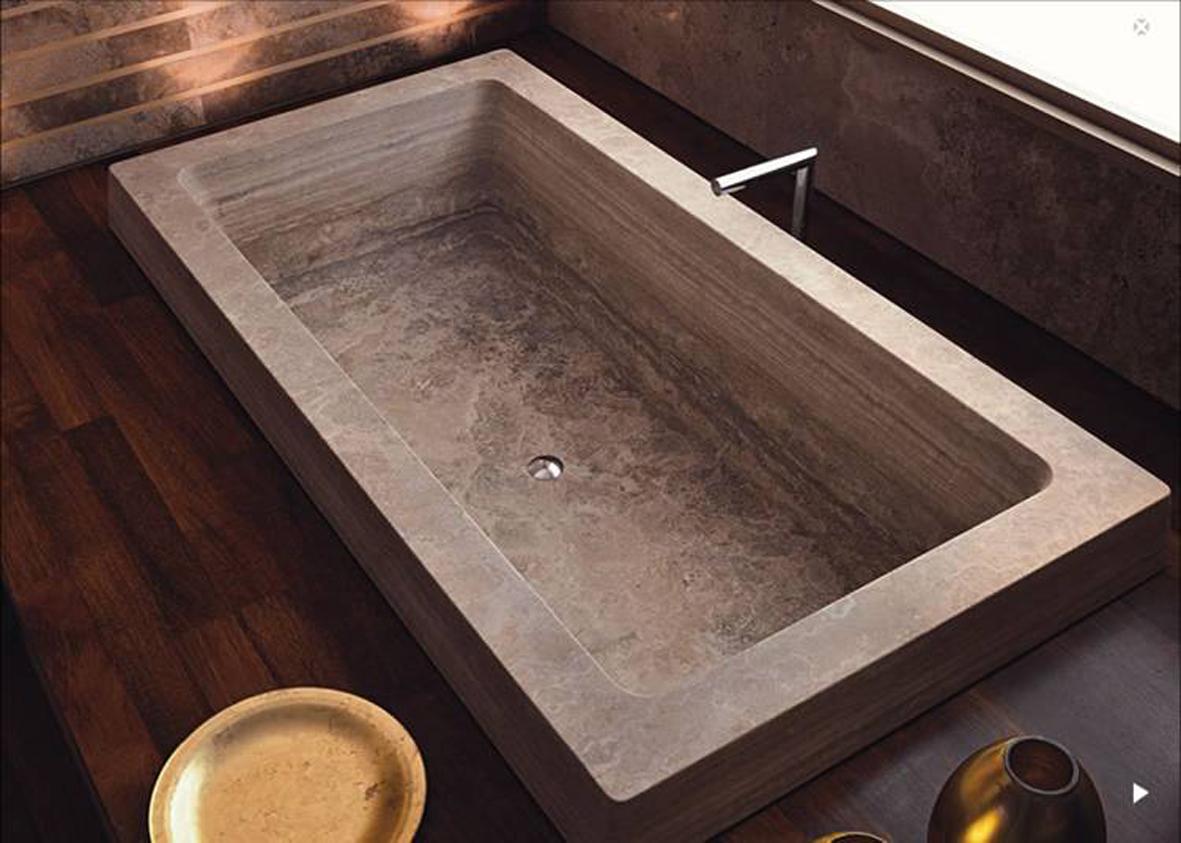 Vasca Da Bagno Su Pietre E Parquet Interior Design : Amedeo liberatoscioli il marmo nell arredamento