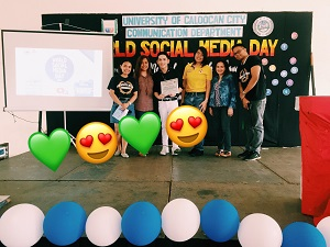 World Social Media Day Speaker: Loving University of Caloocan City Comm Advocates!