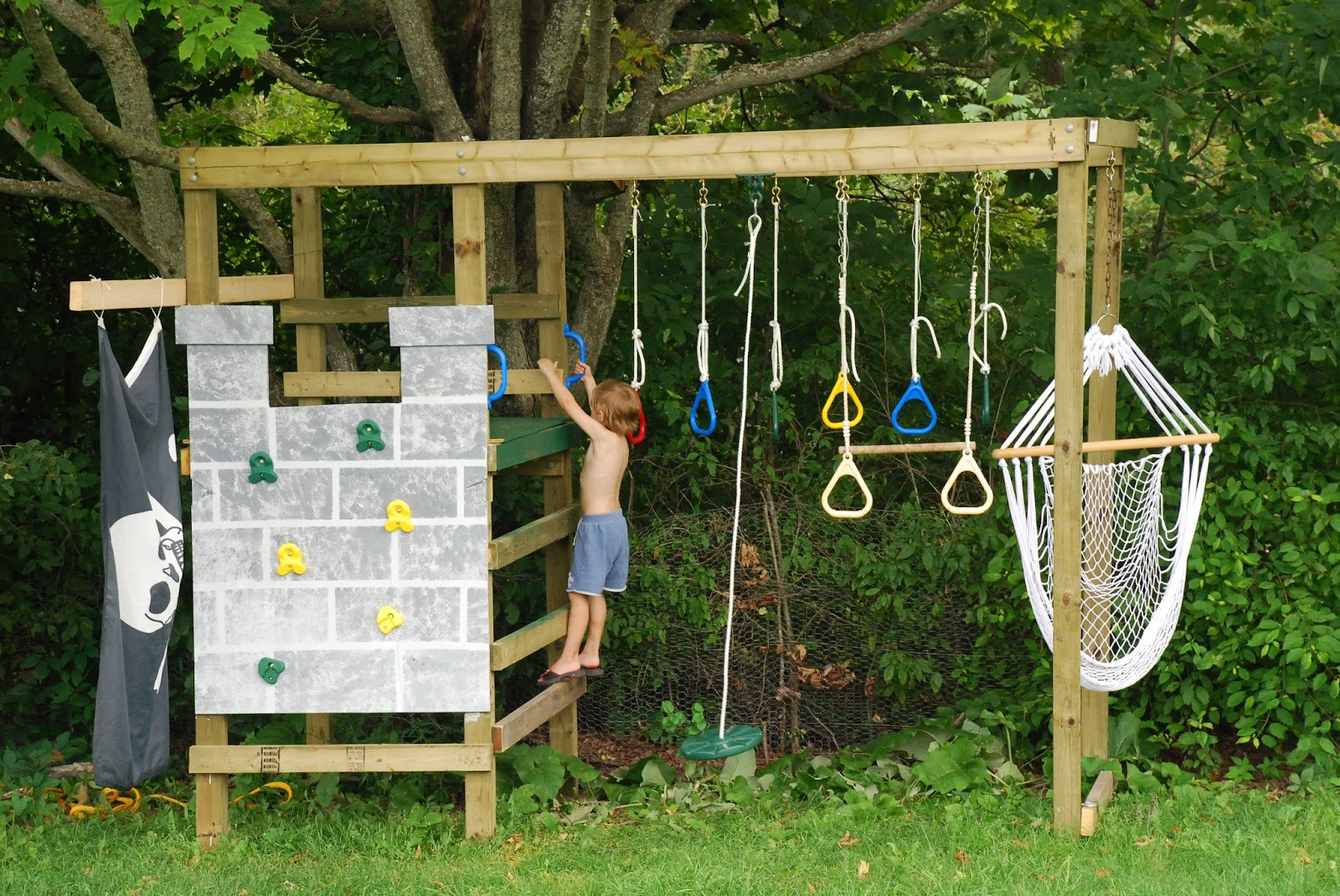 diy play structure