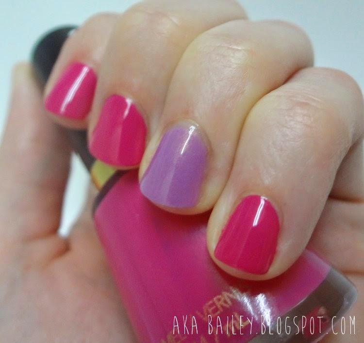 Revlon Fuchsia Fever nail polish