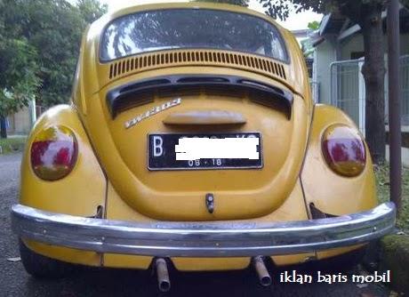 Dijual - VW Antik kuning 1973, Iklan baris mobil