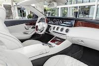 Mercedes-Benz S 500 Cabriolet (2016) Interior