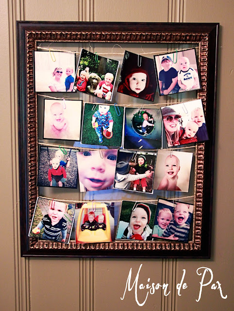 paperclips hold photos change easily