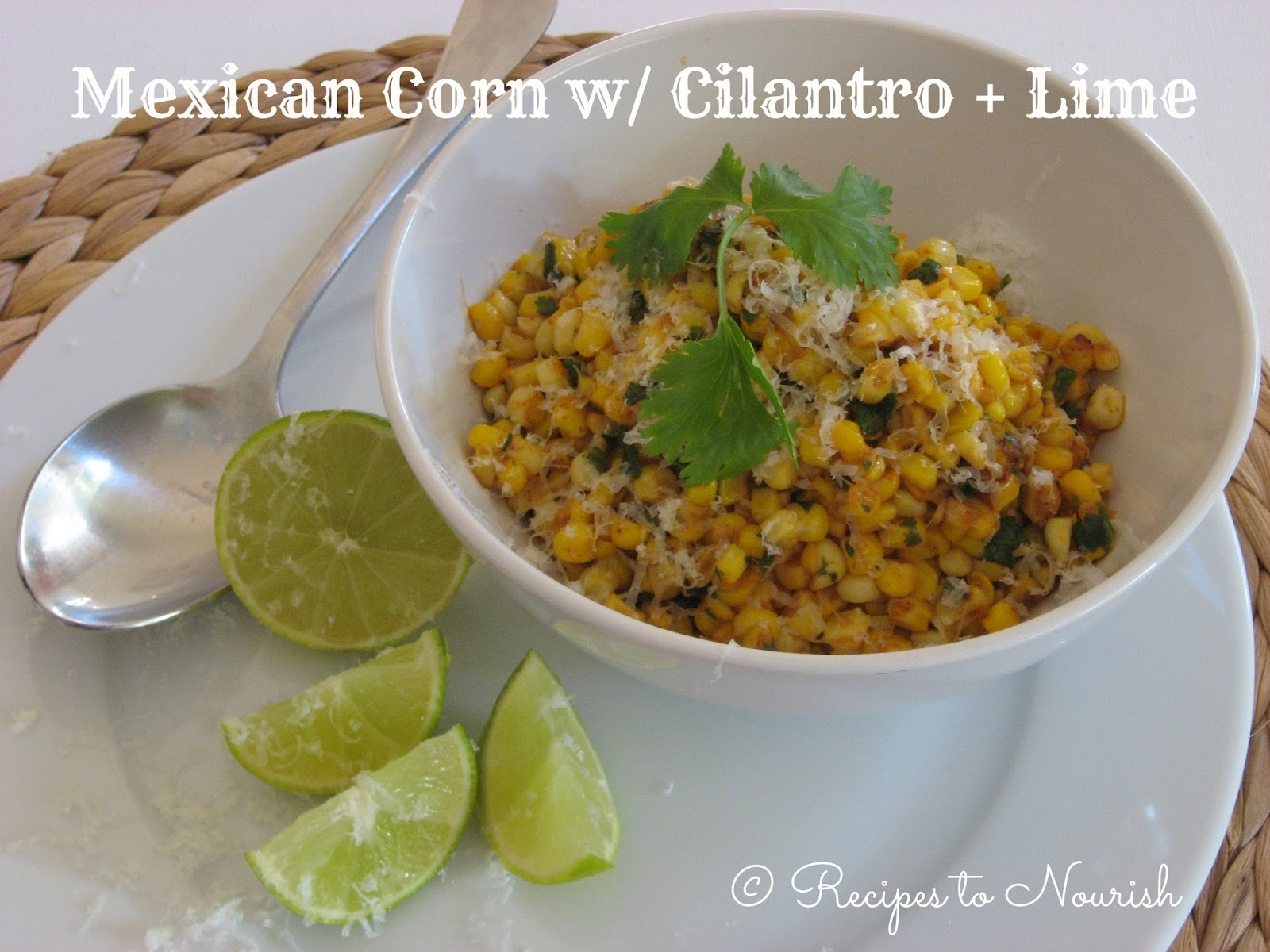 sweet corn combine some common mexican flavors with sweet summer corn ...