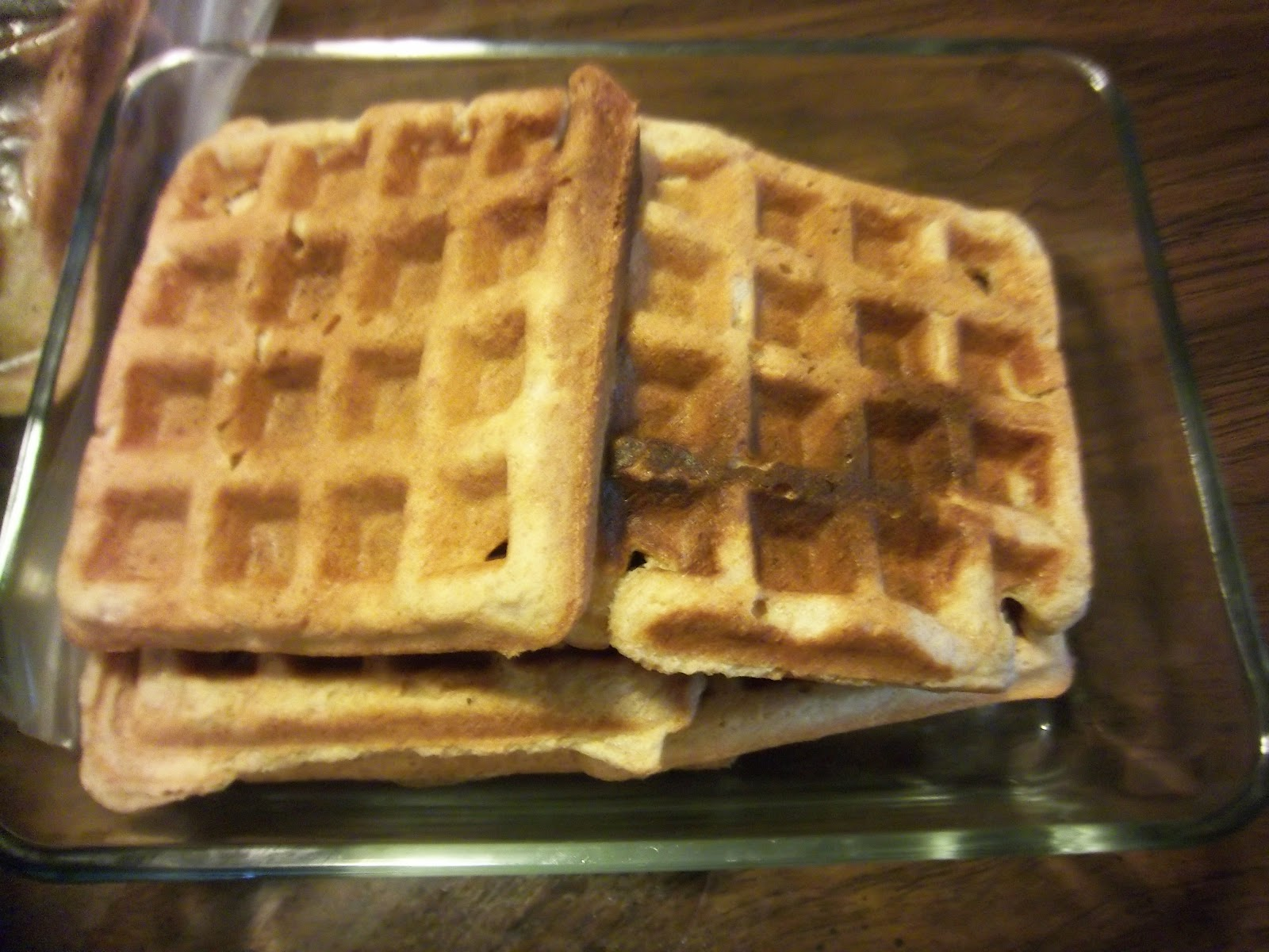 budgeting with the bushmans homemade vegan toaster waffles