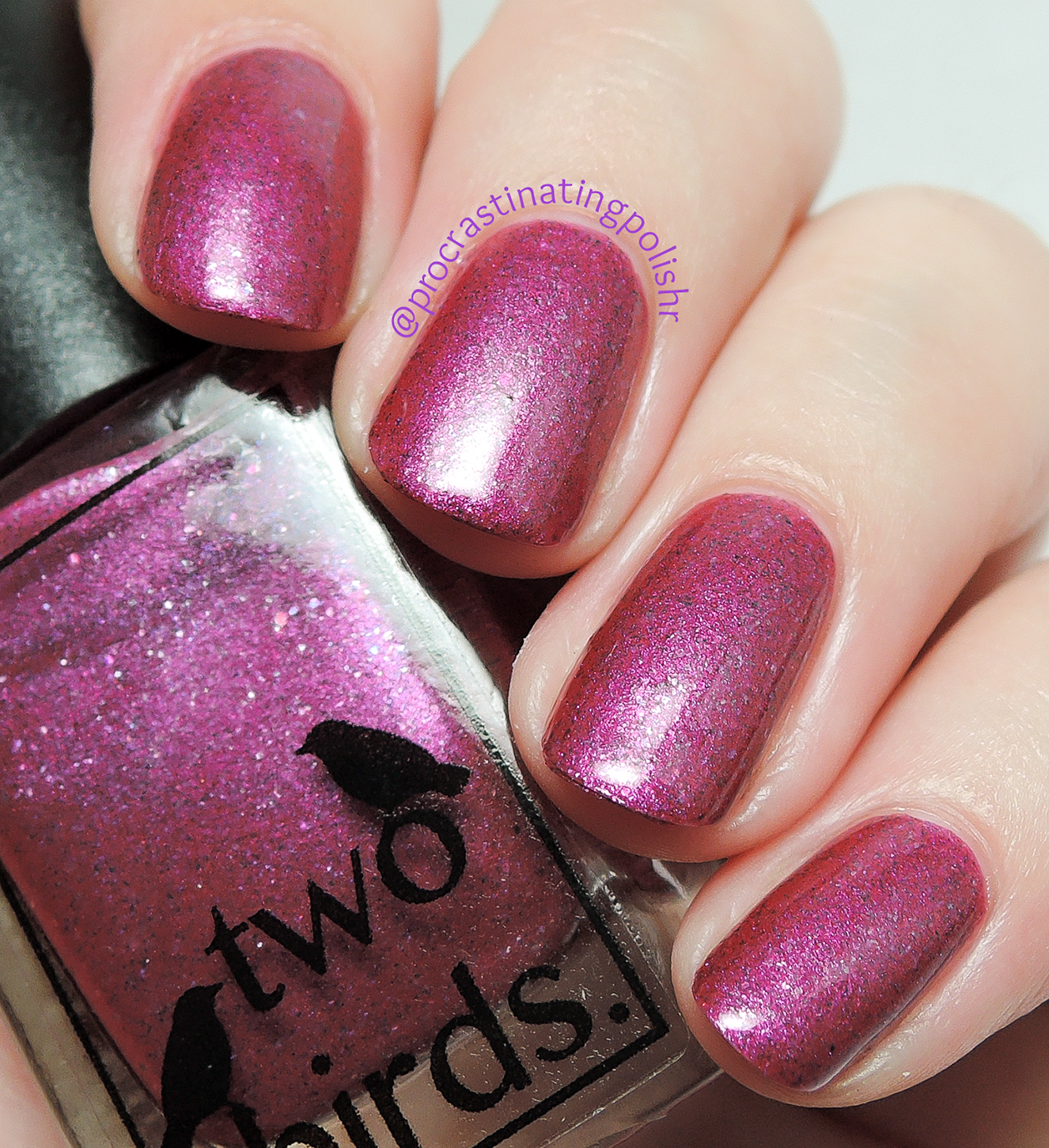 Two Birds Lacquer - Carnation | First Anniversary collection