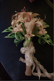 unique wedding paper neverland flower boutonniere