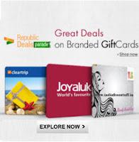 Paytm: Buy Gift Cards upto 15% cashback  – BuyToEarn