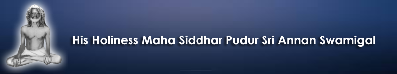Maha Siddhar Pudur Sri Annan Swamigal