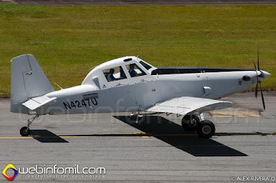 Air Tractor AT-802 armado de apoyo aéreo cercano.