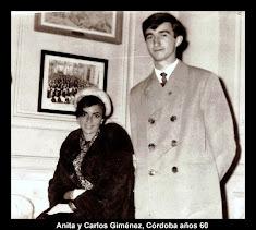 Carlos y Anita, su hermana