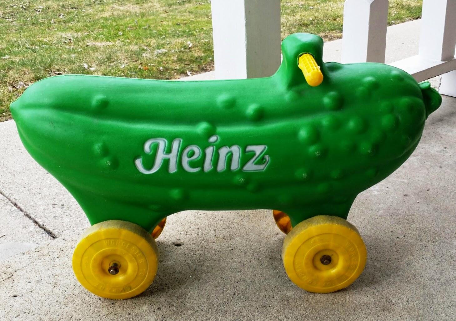 Still vintage heinz car toys