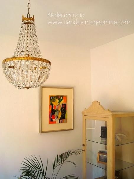 comprar lampara de lagrimas francesa laton vintage