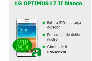Oferta LG Optimus L7 II AMENA