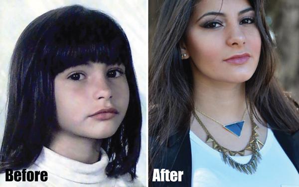 Bárbara Urias No Preach antes e depois