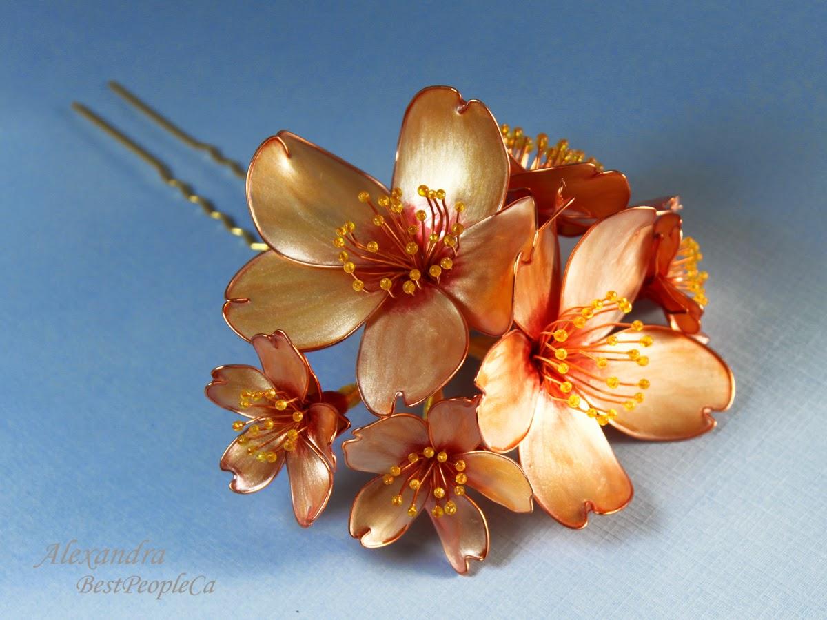 Kanzashi Cherry Blossom