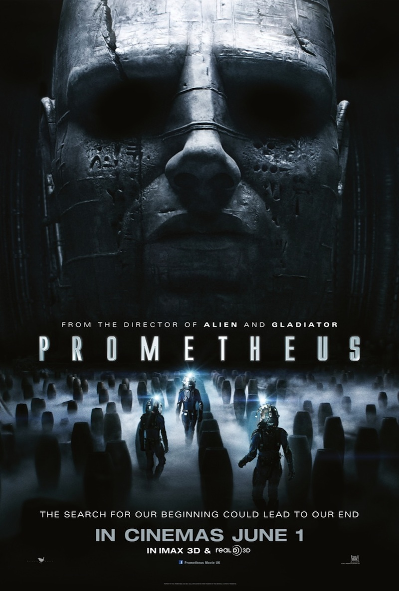 Prometheus 2012 film movie review