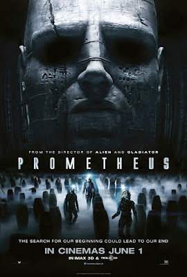 Prometheus 2012 film movie poster
