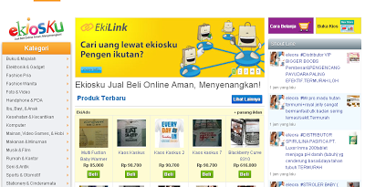Cari Uang lewat ekiosku.com