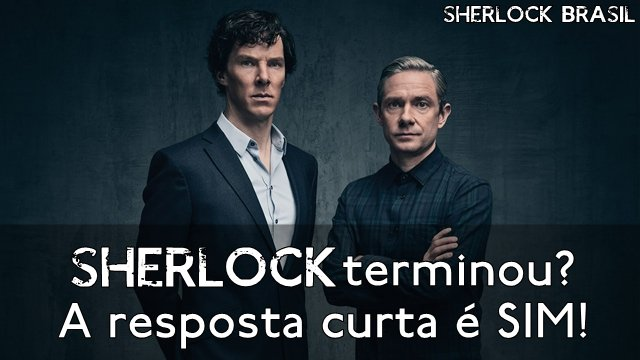 Fim de Sherlock