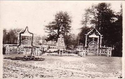 Гольшаны. Памятник немецким солдатам, фото 1916 года