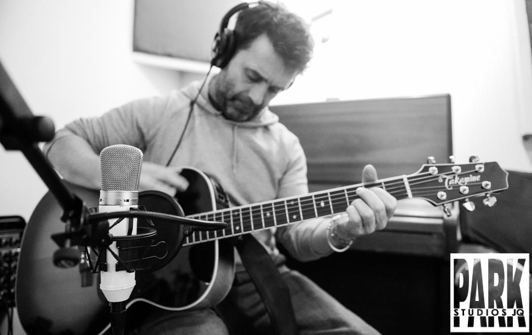 Birmingham recording studio Park Studios JQ | Takamine guitar