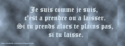 Photo de couverture facebook avec citation