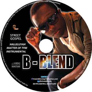 Halleluyah By B-Blend CD showing contacts and Street Gospel