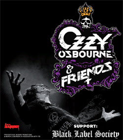Ozzy Osbourne & Friends en Madrid en junio