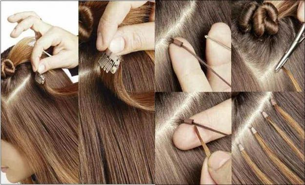 Soledad cabello extensiones de cabello tipos y colocaci n - Extensiones cortina ...