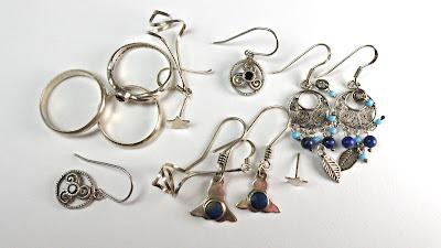 limpiar joyas de plata: