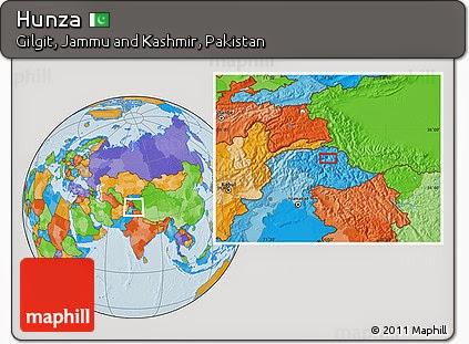 Hunza Map
